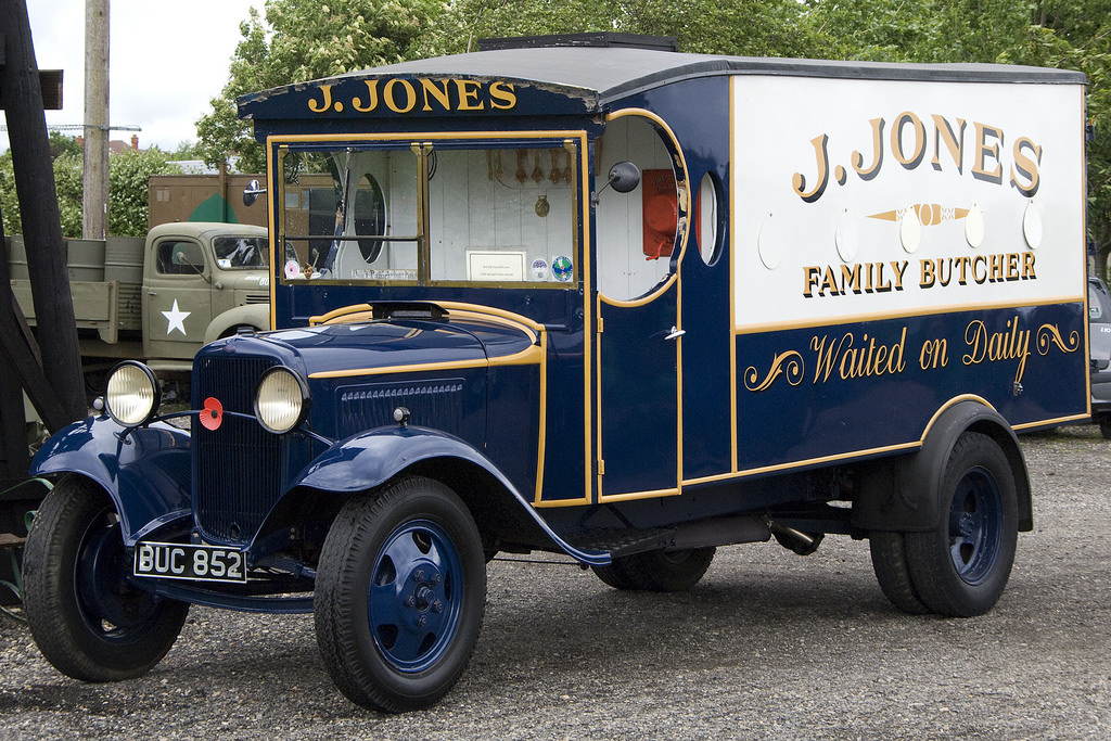 And while it isn't Jones himself, isn't his van a thing of beauty?