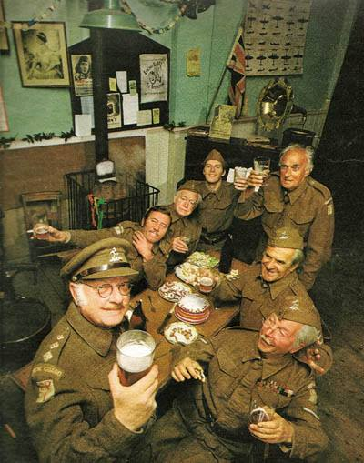 One Of Our Favourite Dad's Army Photos – British Legends
